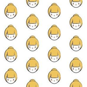 Yellow Girl Pattern