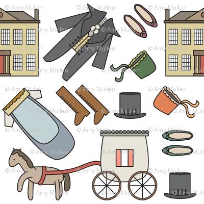 Jane Austen Theme Pattern