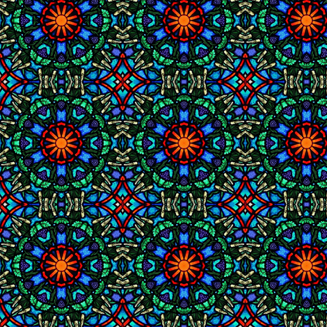 Eucharist Rising (Large) fabric by stitchinspiration on Spoonflower - custom fabric
