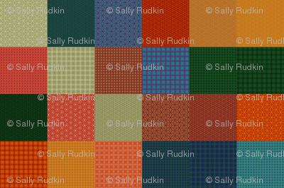 "Shandon Beauties Solids Sampler - 3"" Squares"