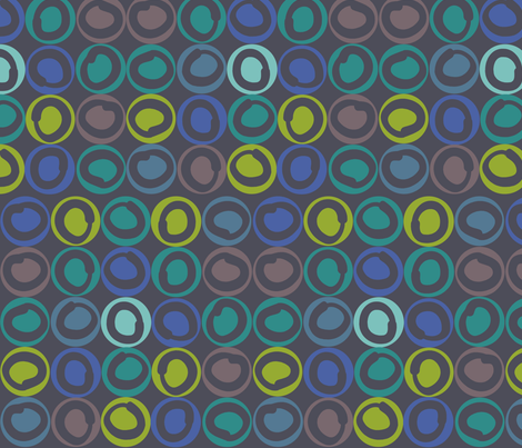 dark_rings fabric by antoniamanda on Spoonflower - custom fabric