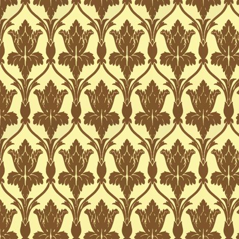 Miniaturized 221B Baker Street fabric by fentonslee on Spoonflower - custom fabric