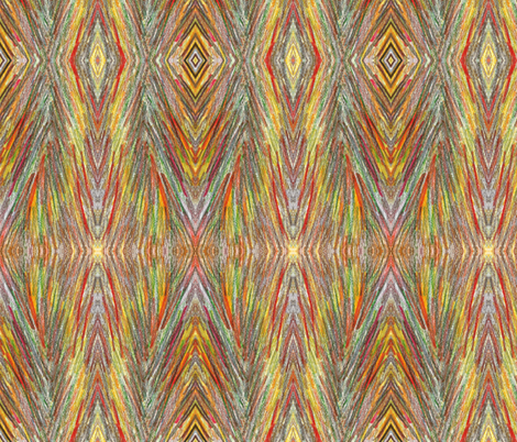 Feathers 2 fabric by sewbiznes on Spoonflower - custom fabric