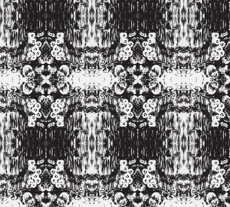 desertflowers-BW fabric by sewbiznes on Spoonflower - custom fabric