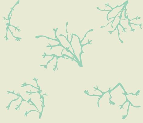 seacoral fabric by ashleysnyder on Spoonflower - custom fabric