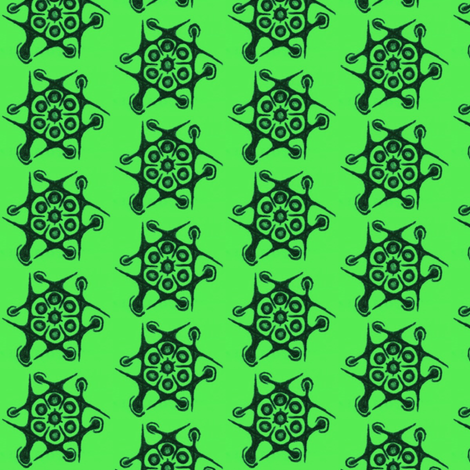 Green yogyrt fabric by claytown on Spoonflower - custom fabric