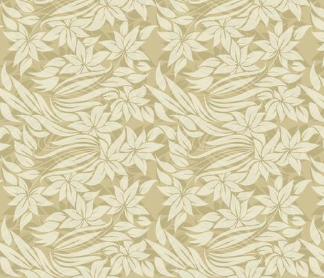 tender flowers with transparancies fabric by anastasiia-ku on Spoonflower - custom fabric