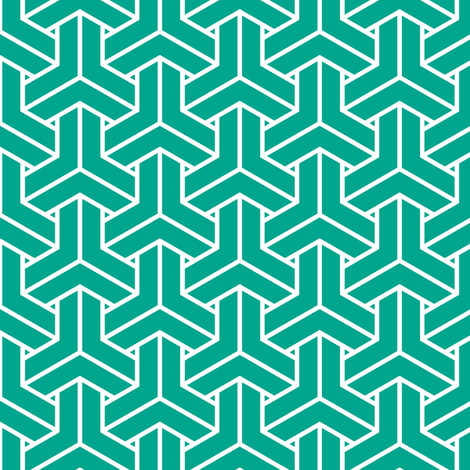 bishamon solid in emerald fabric by chantae on Spoonflower - custom fabric