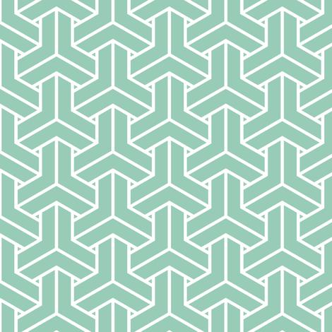 bishamon solid in jade fabric by chantae on Spoonflower - custom fabric