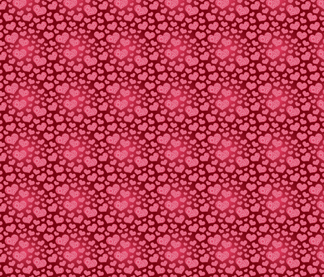 I love you-Glamourously! fabric by crafts51432 on Spoonflower - custom fabric