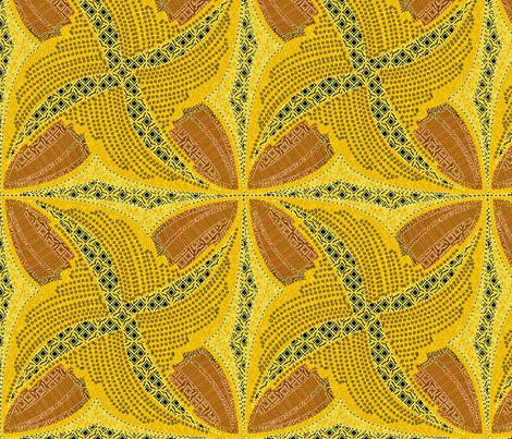 spindots afrikans solar flare fabric by glimmericks on Spoonflower - custom fabric