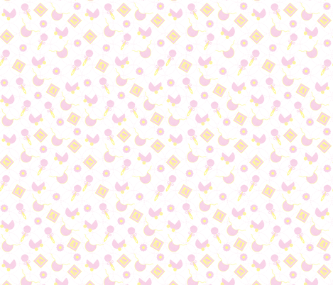 Pink_baby fabric by patti_ on Spoonflower - custom fabric
