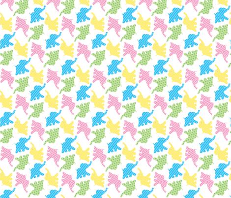 baby_elephants fabric by patti_ on Spoonflower - custom fabric
