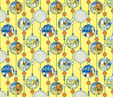 Wizard of Oz Tribute fabric by fentonslee on Spoonflower - custom fabric