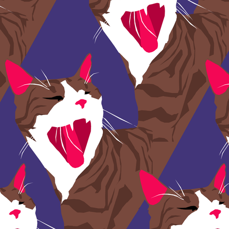Regelwyn Yawns fabric by pond_ripple on Spoonflower - custom fabric
