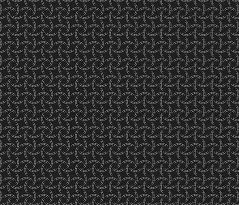 Klingon Bat'leth - Grey, Small fabric by meglish on Spoonflower - custom fabric