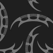 Klingon Bat'leth - Grey, Large