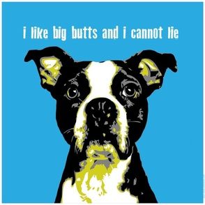 I like big butts cushion panel