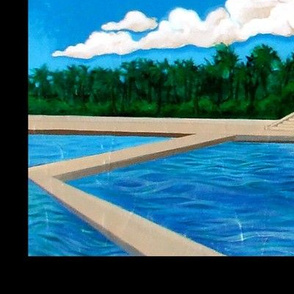 NATATORIUM painting