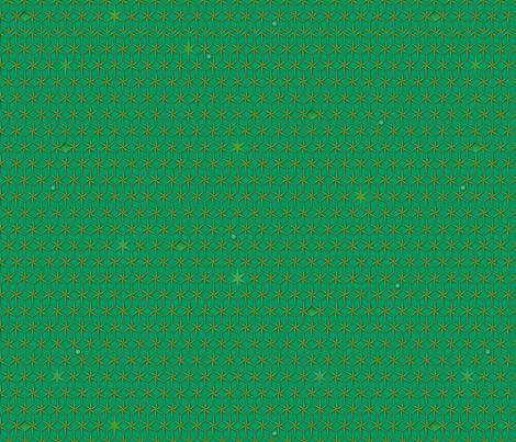 star grid emerald fabric by glimmericks on Spoonflower - custom fabric