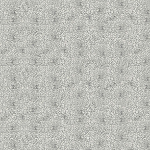 Grey Chrysanthemums
