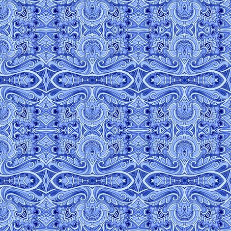 Midnight Swirl fabric by edsel2084 on Spoonflower - custom fabric