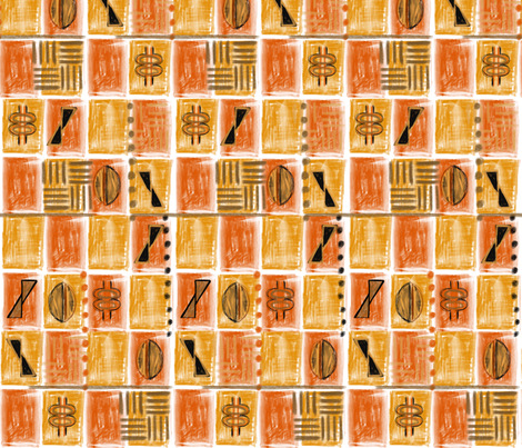 Africa fabric by wiccked on Spoonflower - custom fabric
