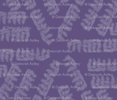 Corkscrew Pasta on Dusky Purple