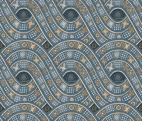 Ibini Zn fabric by spellstone on Spoonflower - custom fabric