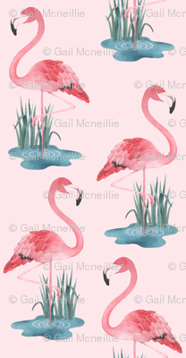 Flamingo Pink - Small