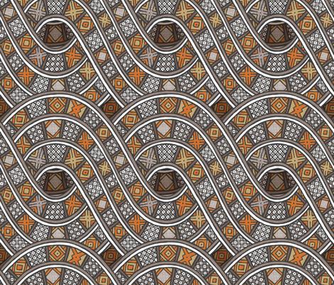 Ibini Cu fabric by spellstone on Spoonflower - custom fabric