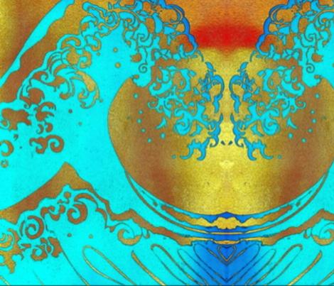 Zwave-ed-ed-ed-ed fabric by cherb on Spoonflower - custom fabric