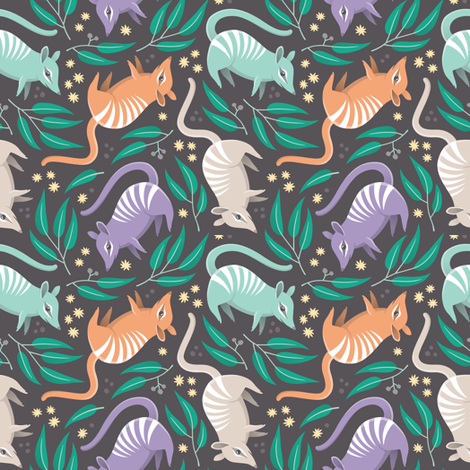 Numbats! fabric by anitakingsley on Spoonflower - custom fabric