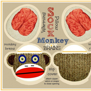 GOT BRAINS! Sock Monkey / Monty