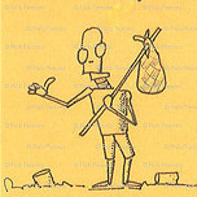Hitchhiking Robot (Yellow)