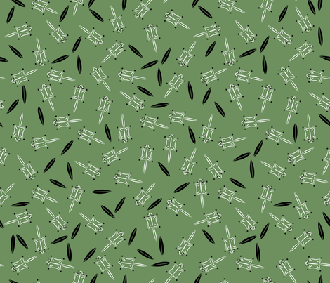 Sugar Glider Scatter fabric by spoonnan on Spoonflower - custom fabric