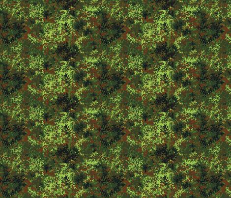 1/6 German Bundeswehr Flecktarn Camo fabric by ricraynor on Spoonflower - custom fabric