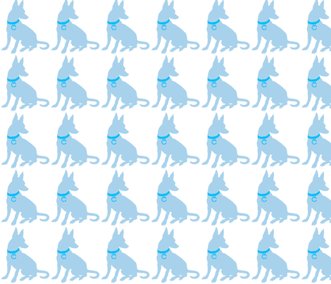 1LOUIE_2_WORKING_LAYERS fabric by the_little_blue_dog on Spoonflower - custom fabric