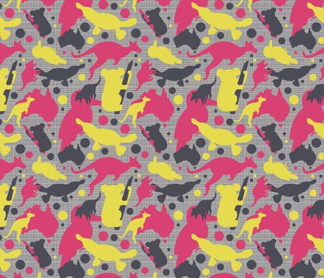 Fun_Fauna fabric by bojudesigns on Spoonflower - custom fabric