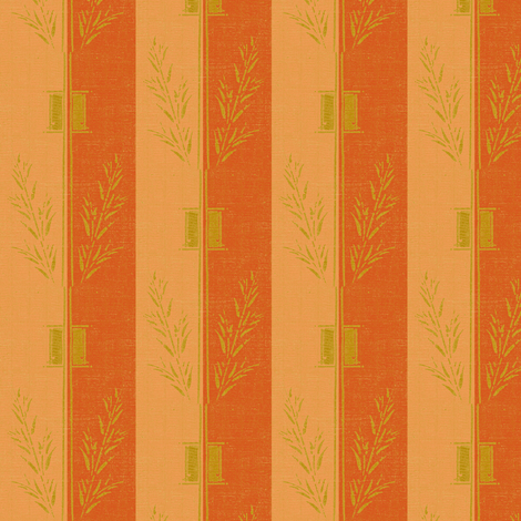 Deco_wheat_stripe - apple and melon fabric by materialsgirl on Spoonflower - custom fabric