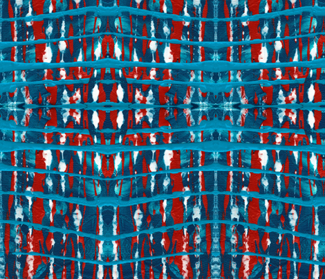 Old Glory fabric by janet_antepara on Spoonflower - custom fabric