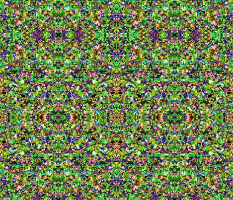 Carnaval in Lime fabric by claudiaowen on Spoonflower - custom fabric
