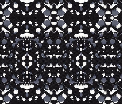 Marble Tears, Black fabric by janet_antepara on Spoonflower - custom fabric