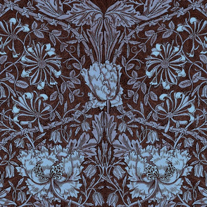William Morris ~ Honeysuckle Twilight