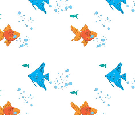fish fabric by london_dewey on Spoonflower - custom fabric