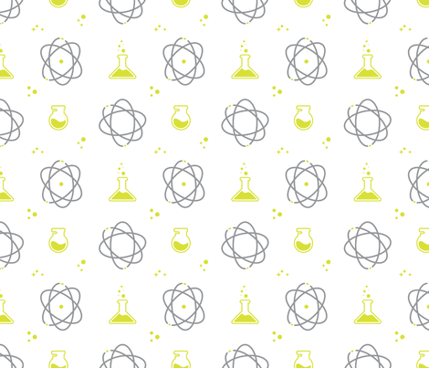 Science fabric by london_dewey on Spoonflower - custom fabric