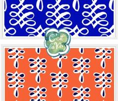 cestlaviv_infinityknot coral+navy