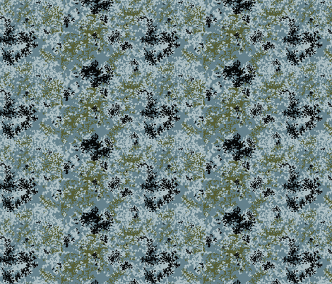 1/6 Scale Urban Flecktarn Camo fabric by ricraynor on Spoonflower - custom fabric