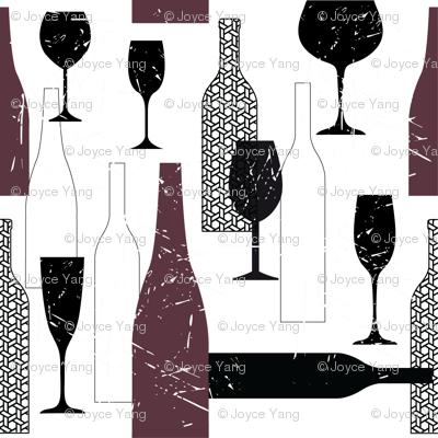 Wine Bottle Prints