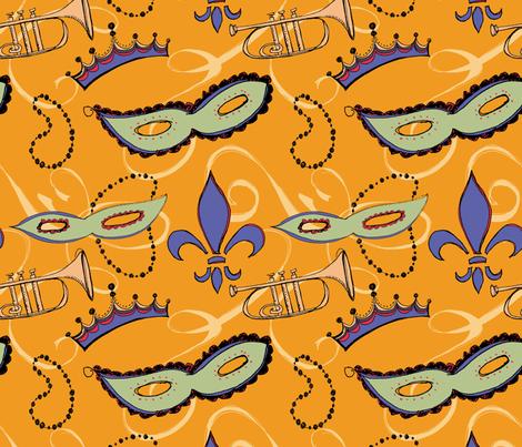 Akkerman-mardigras-01 fabric by hollyakkerman on Spoonflower - custom fabric